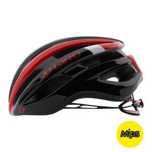 Fietshelm Giro Foray MIPS - Racefiets helm - zwart-rood kopen online