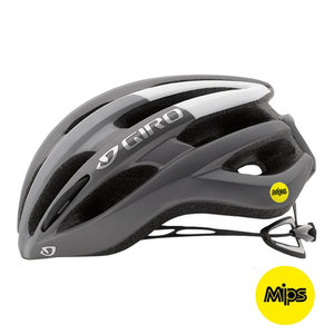 Fietshelm Giro Foray MIPS - Racefiets helm - titanium grijs kopen online