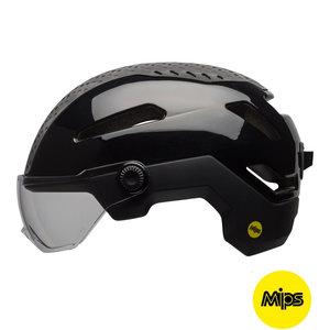 bell annex shield mips zwart kopen - e bike helm bell - bell fietshelm met vizier
