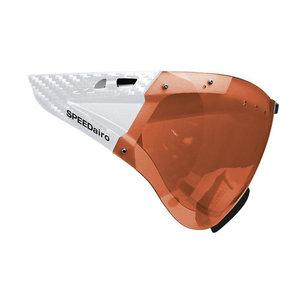 Casco speedmask - casco helm vizier carbonic oranje - voor casco roadster - casco speedairo - casco speedster tc plus 5017