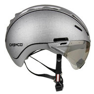 Casco helm Roadster zilver kopen - beste fietshelm met casco speedmask vizier
