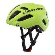 racefiets helm Cratoni C-Pro lime groen - professionele wielrenhelm kopen online