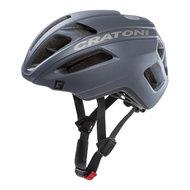 racefiets helm Cratoni C-Pro zwart asphalt rubber - professionele wielrenhelm kopen online