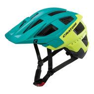 mtb helm Cratoni allset groen geel - beste fietshelm in mtb helm test
