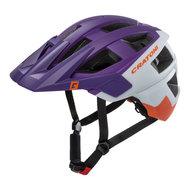 mtb helm Cratoni allset paars wit - beste fietshelm in mtb helm test