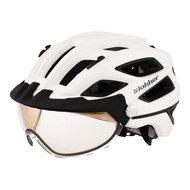 slokker penegal wit kopen - fietshelm - mtb helm - racefiets helm - fietshelm met vizier - e bike helm